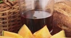 Melon con vino