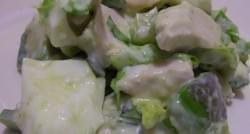 Salpicón de pollo a lo chileno