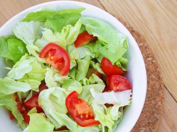 Ensalada De Lechuga Y Tomate Recetas De Chile
